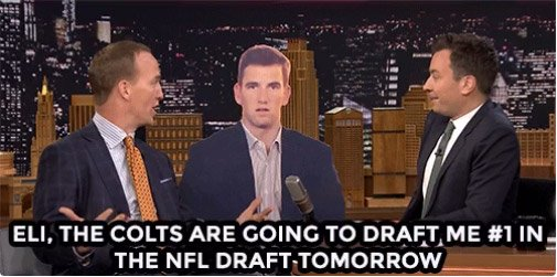 So Peyton Manning was a guest on @FallonTonight and this happened ...