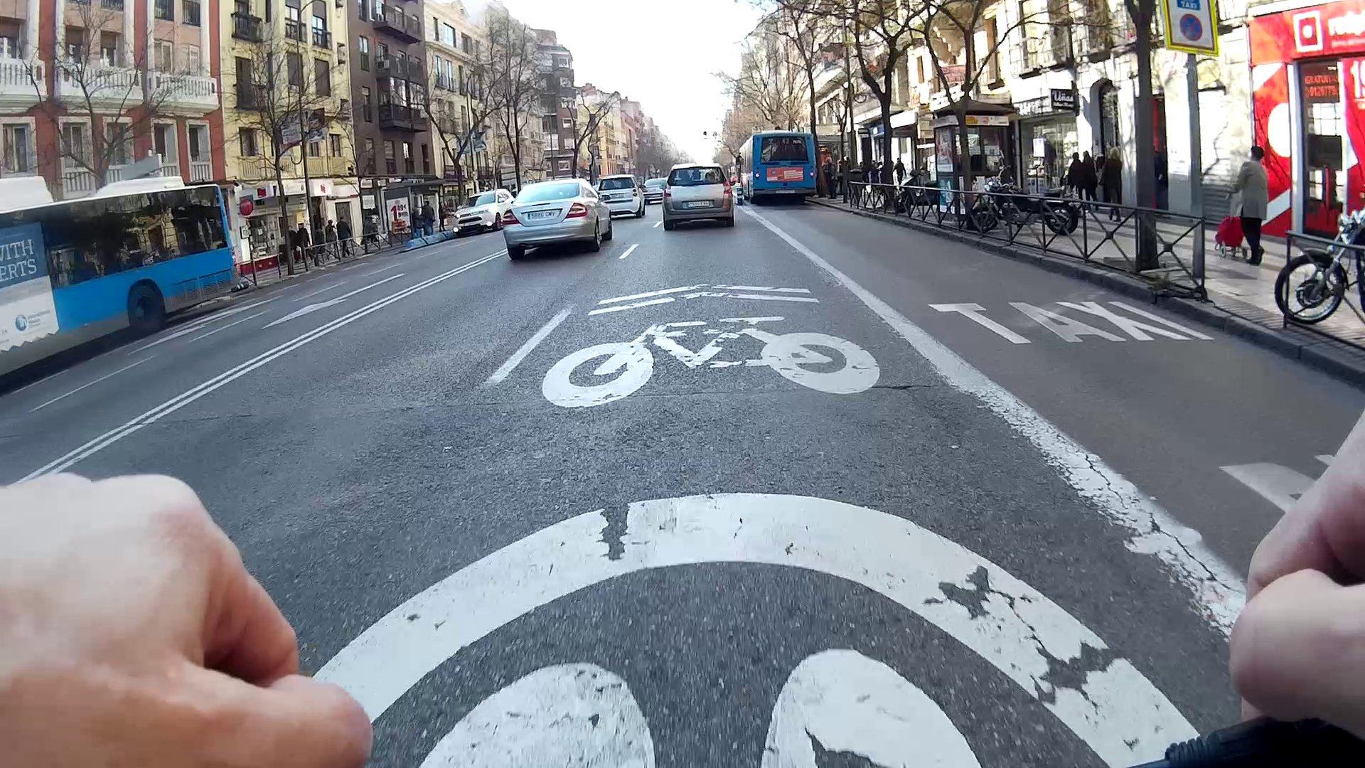 El Modelo Madrid de movilidad ciclista