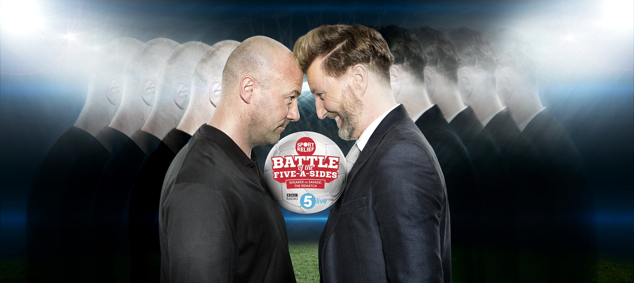 RT @5liveSport: Want to play ⚽ with @RobbieSavage8 or @AlanShearer ?  You can for @SportRelief  https://t.co/6P7yrYEffx #5liveAside https:/…