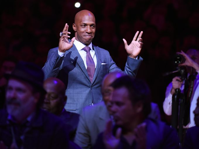 Pistons Chauncey Billups feted at jersey retirement: 'I just wanted to be a champion'