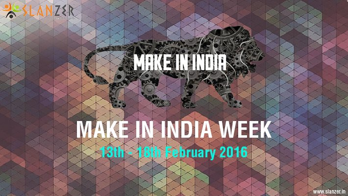 Slanzer Technology hopeful with Make in India week