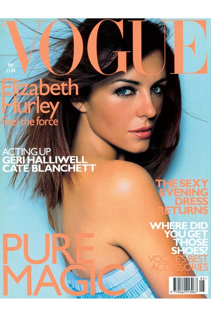 RT @BritishVogue: Five-time Vogue cover girl Elizabeth Hurley on how her friends have become her family: https://t.co/5c5xWbBOQi https://t.…