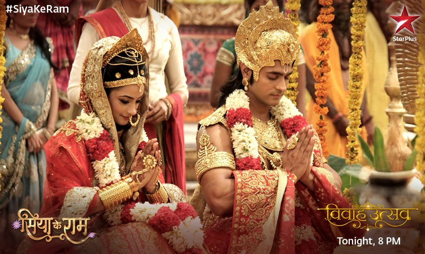 Ram and Sita wedding picture in Siya Ke Ram image- HD picture, Ashish Sharma and Madirakshi Mundle