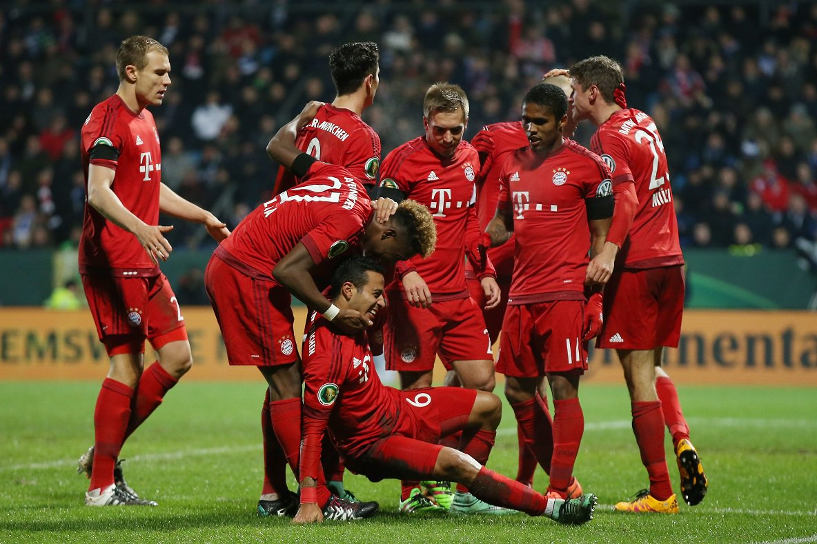 Футбол Бавария - Герта 16.08.19 прямая трансляция