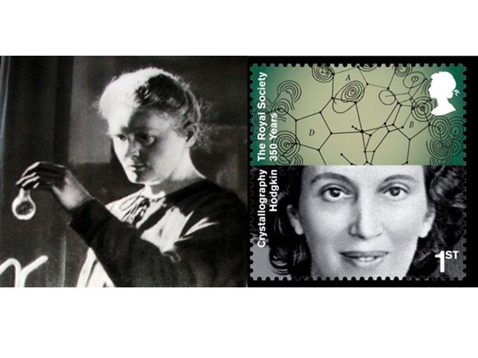 Many great #WomenInSTEM Includes Nobel Prize winners Marie Curie & Dorothy Hodgkin @4womeninscience @Science_Grrl https://t.co/YZFHT8jWvu