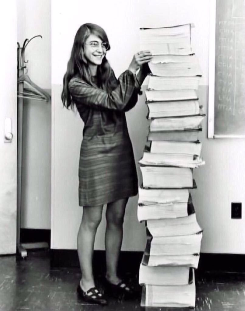Her code got humans on the moon —and invented software itself. #WomenInSTEM https://t.co/8VLckKs7WQ