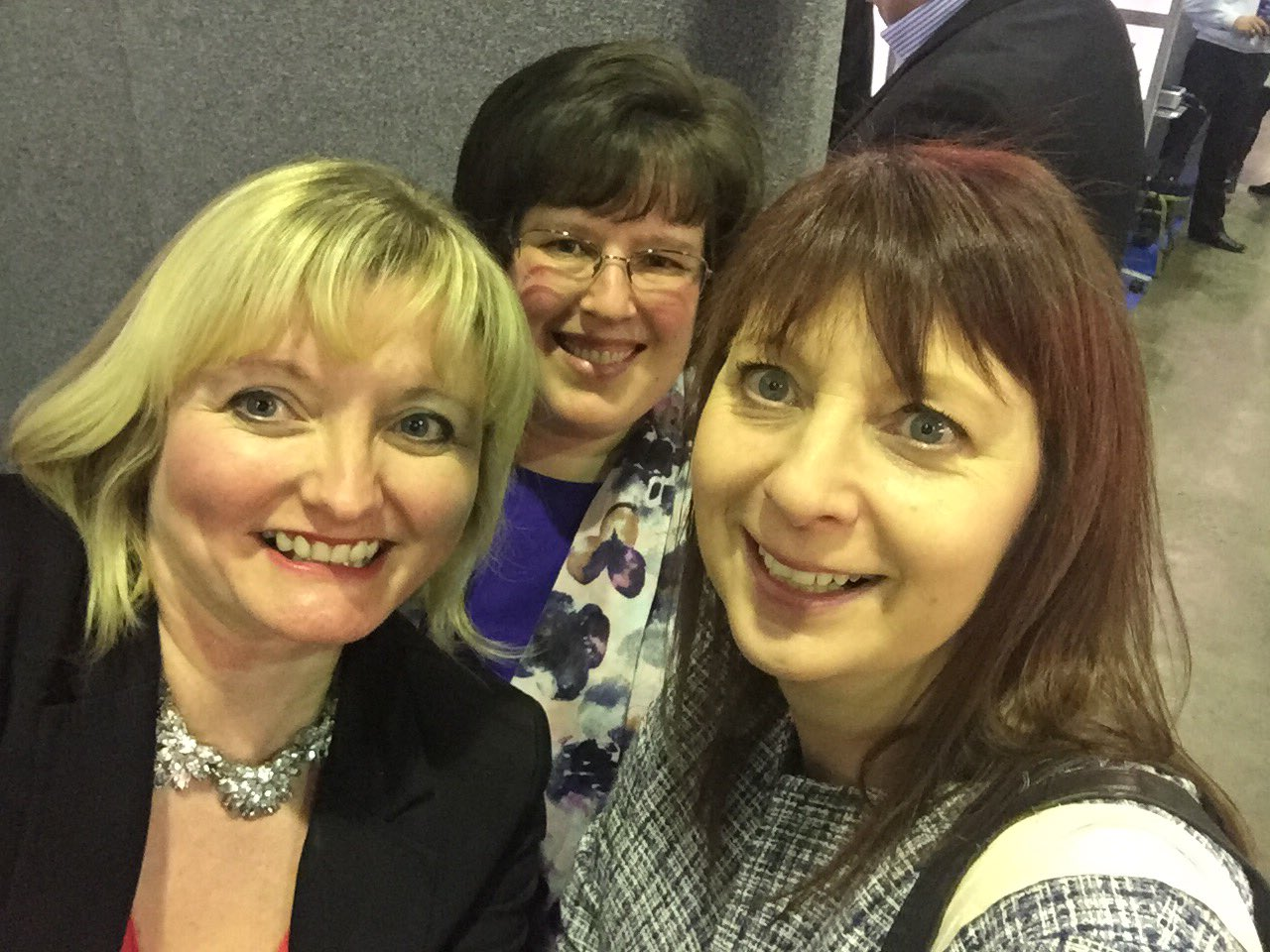 RT @PassionMktg: Lovely ladies @finances1stlady and @marionparrishhr visit our stand @LoveBusinessBuz :) https://t.co/Cb8sdpNd99