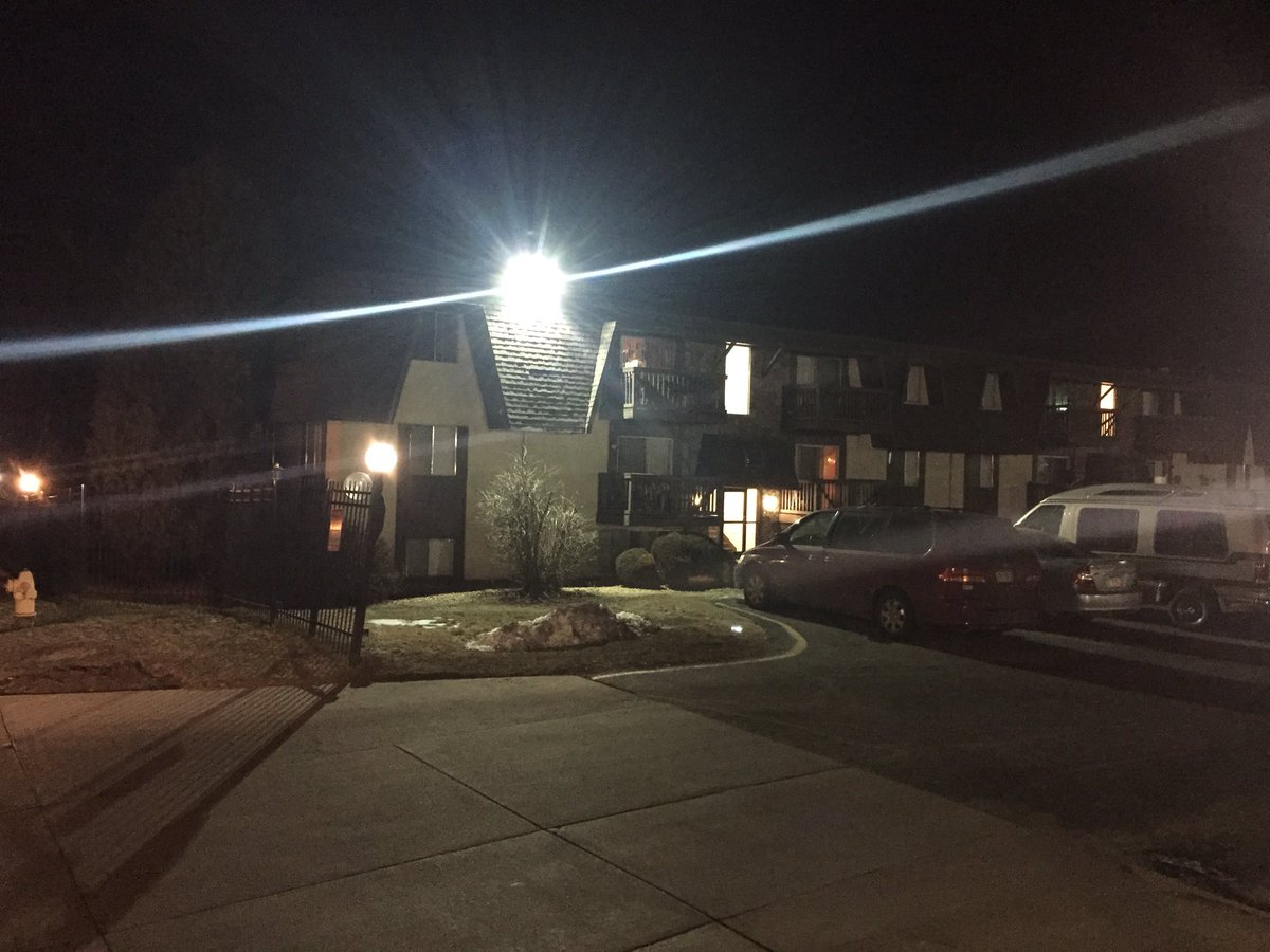 We're live this AM at the apartment where authorities say a 6 yr old was found dead & a woman was sexually assaulted
