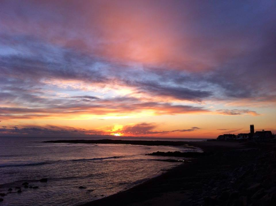 A stunning sunrise out of Brant Rock this morning -- thanks for the photo, Susan! Wake up w/ FOX25, on until 10am
