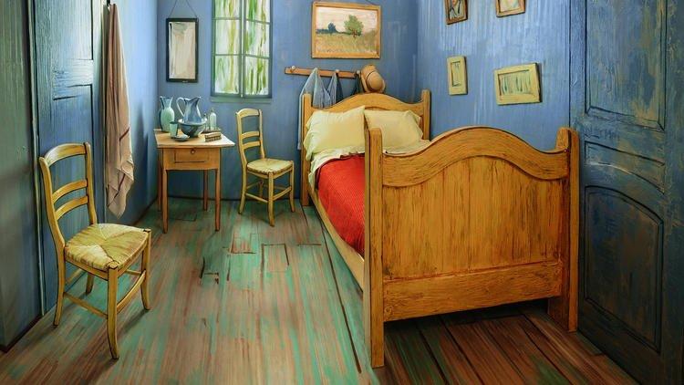Art Institute re-creates Van Gogh's bedroom to rent on Airbnb