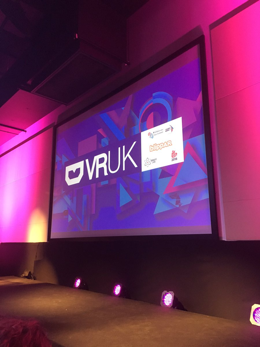 Virtual Reality will go mainstream in 2016! We got a chance to get our hands on this 1st hand at #VRUKFest this week https://t.co/wbxaVpzYWL