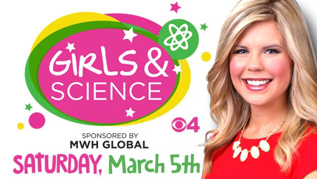 Are you signed up yet? Help girls get inspired to join the world of science! WomenInSTEM