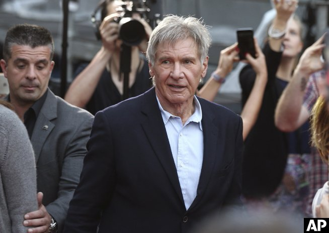 StarWars producers charged over Harrison Ford accident