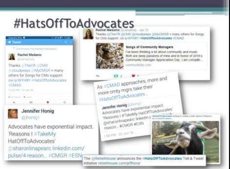 Thank-you for participating in #HatsOffToAdvocates in Jan. Clip & Share,   https://t.co/0sWE2V3whe #esnchat https://t.co/2WqSaP1kgv