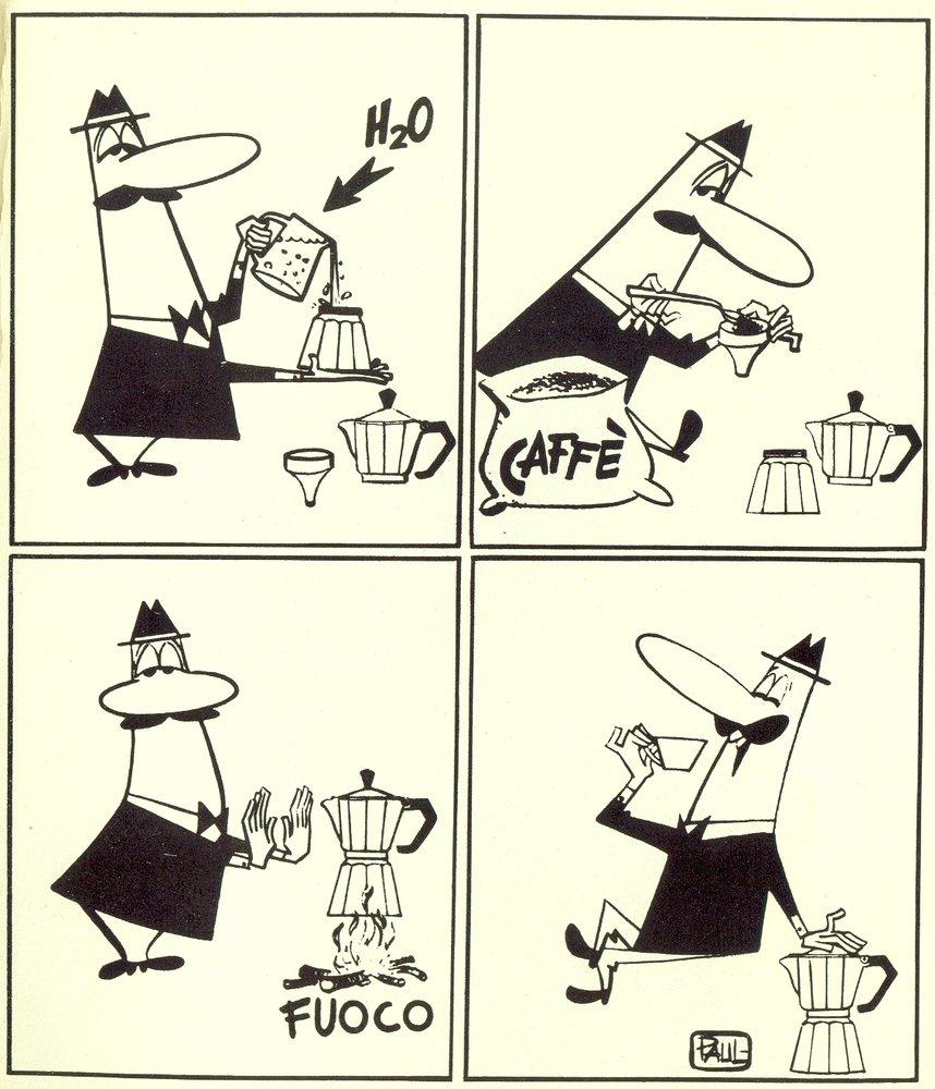Il funzionamento della caffettiera Bialetti Moka Express Caffè