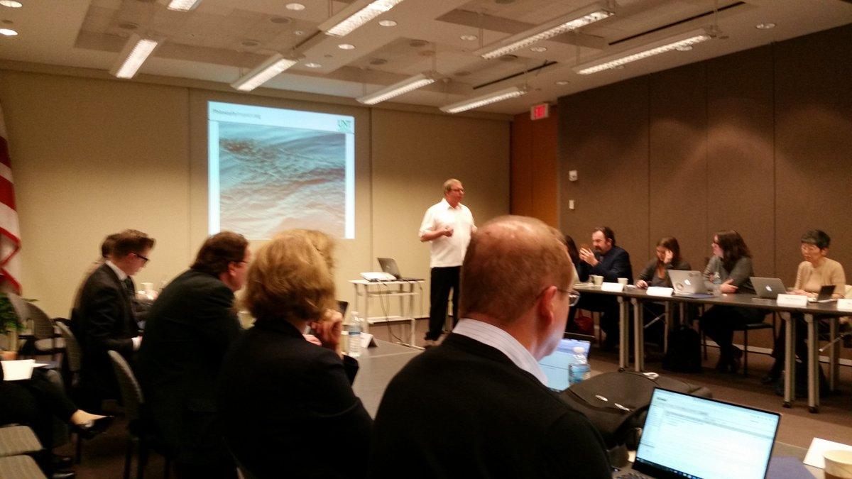 #broaderimpact16 PI @RobertFrodeman addressing the workshop https://t.co/yvqbRYARhE