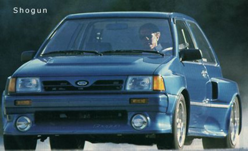 Renault 5 Turbo 2 Vs Ford Festiva Shogun Which One Wins ConnorBraugh Tco UsDAJjP91G