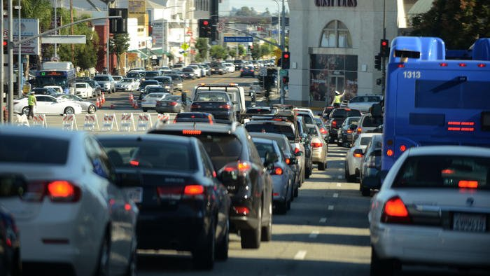 Get ready, L.A. – President Obama's coming to town today. Here are all the roads to avoid