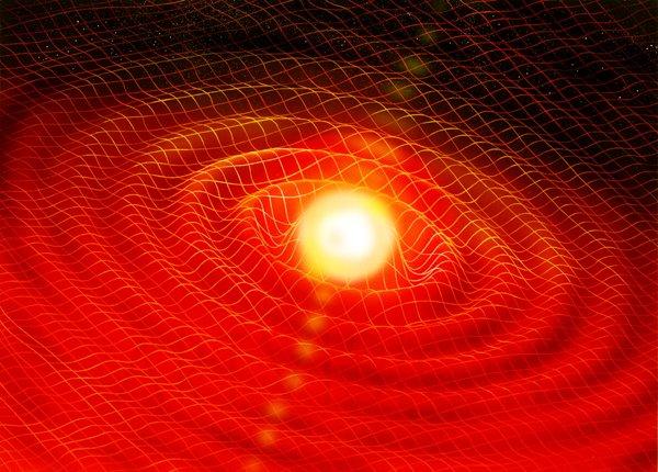 l'esistenza delle onde gravitazionali