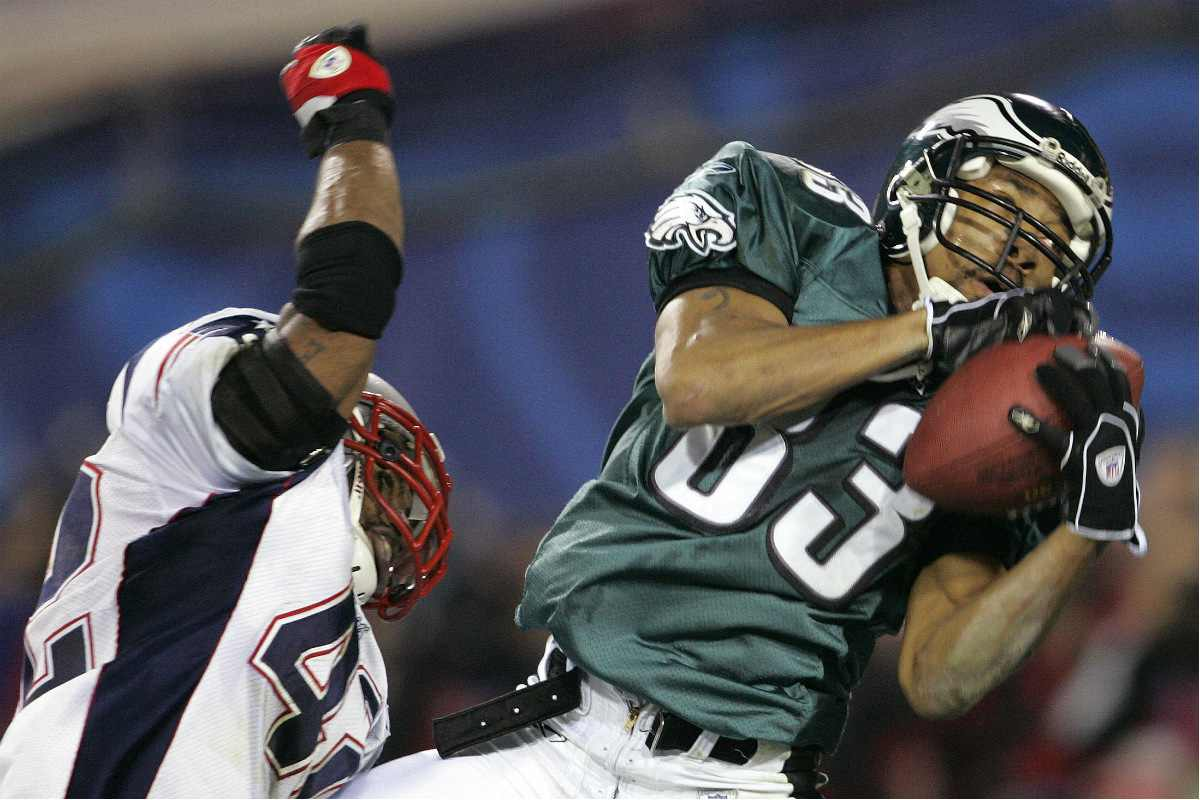 A former Eagles wide receiver is back with the team to coach the new era of Birds