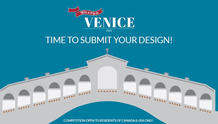 It's competition time! We are asking you to design a chair for your chance to win a trip to Venice! #SandlerVenice