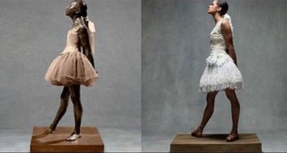 Ballerina Misty Copeland recreates Degas' dancers in 'Harper's Bazaar' shoot 9newsmornings