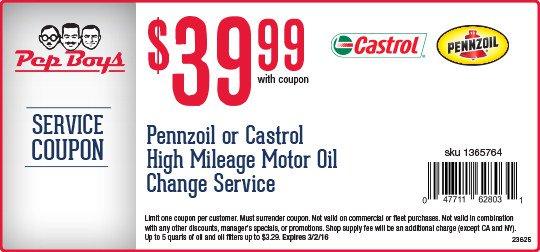 High mileage oil coupon firestone
