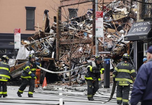 JUST IN: Five arrested in connection with East Village explosion in March that left two dead