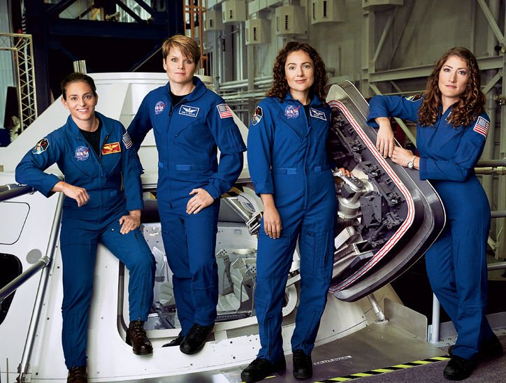 Meet the four women astronauts who can't wait to go to Mars: https://t.co/NvlyzmyUfr   Via @glamourmag #WomenInSTEM
