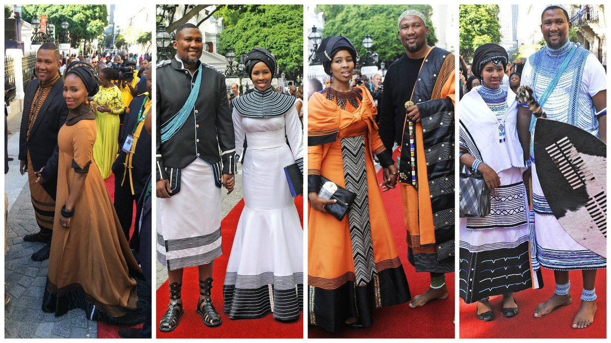 I mean. HOW majestic is this??? Nodiyala and Mandla Mandela deliver. Every. Single. Year! #SONA2016 #SonaFashion https://t.co/rC25UsmiDa