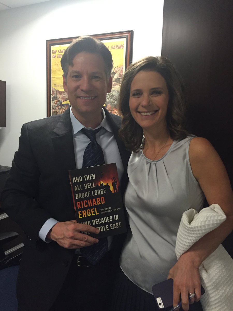 "Please check out our friend @RichardEngel's new book "" And Then All Hell Broke Loose"" & catch him Fri on @billmaher https://t.co/20PiSVvJh8"