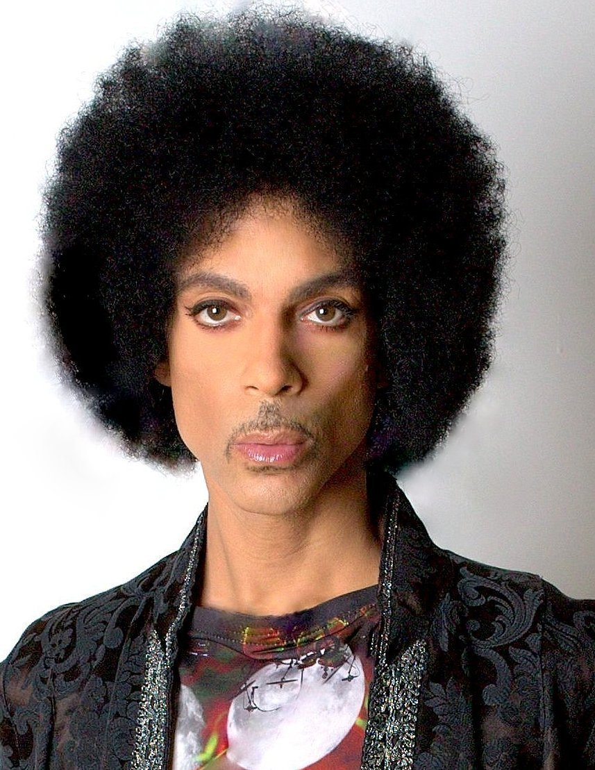 Prince's fabulous passport photo