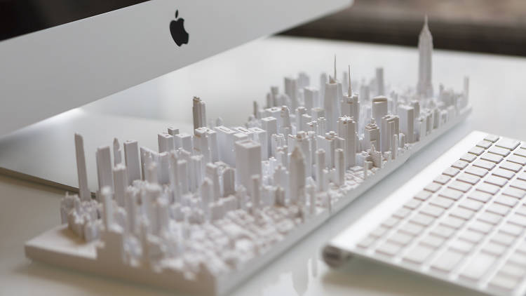 How cool are these tiny, detailed models of NYC?