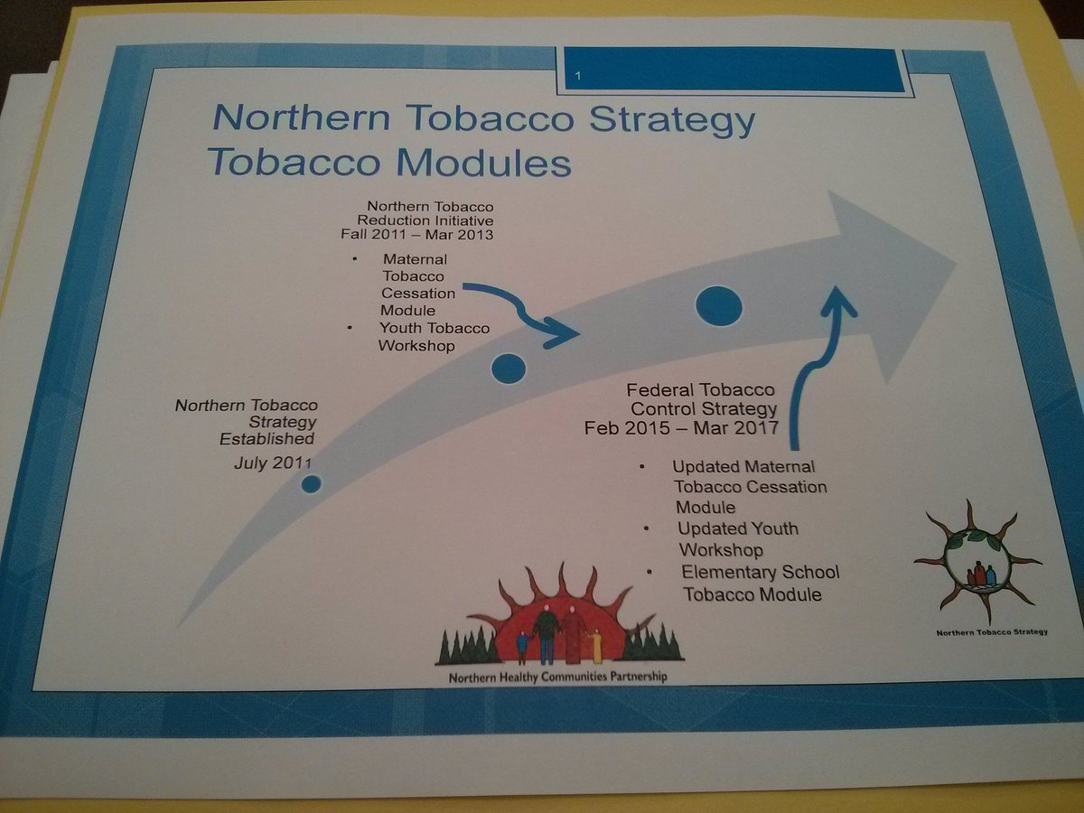 Just getting started from Prince Albert, SK at #HEF16. Northern Tobacco Strategy part of discussion https://t.co/mXMX9LwtJU