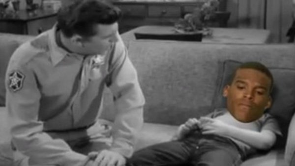 Funny video shows Andy Griffith lecturing 'Cam Newton' about loss