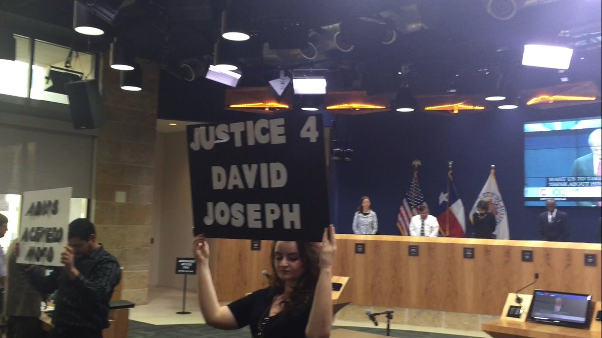 @MayorAdler started the council meeting with a moment of silence for DavidJoseph and his family.