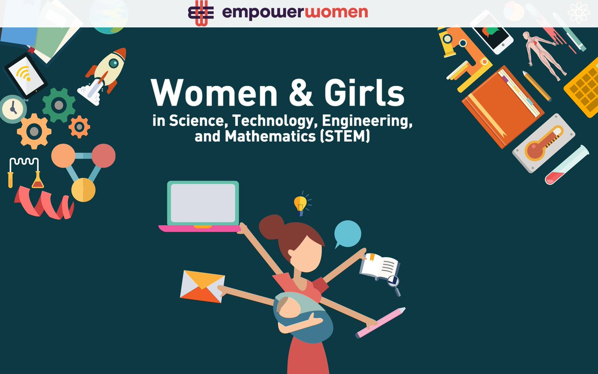 Let's break stereotypes by encouraging women & girls in STEM! #womeninscienceday #dayofwomeninscience @Empower_Women
