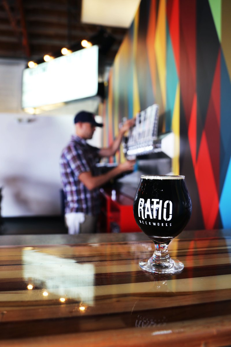Everything about Ratio Beerworks is artsy. That's 1 reason why it's exploding in popularity