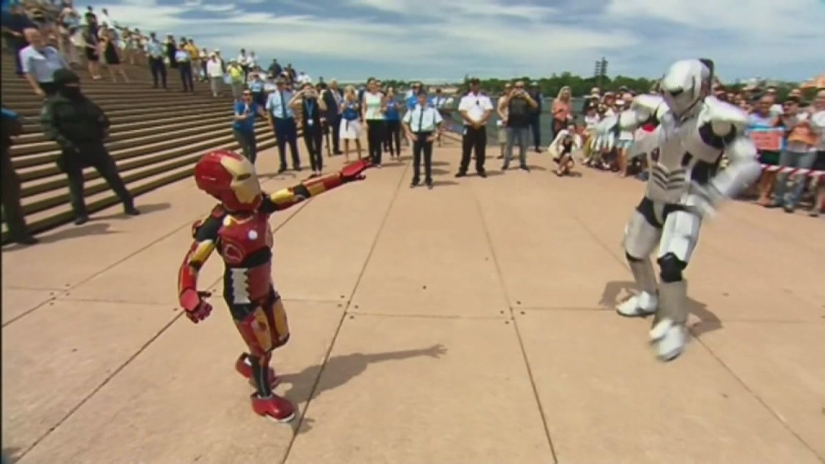 Boy who has cystic fibrosis appointed an honorary Avenger by Robert Downey Jr.
