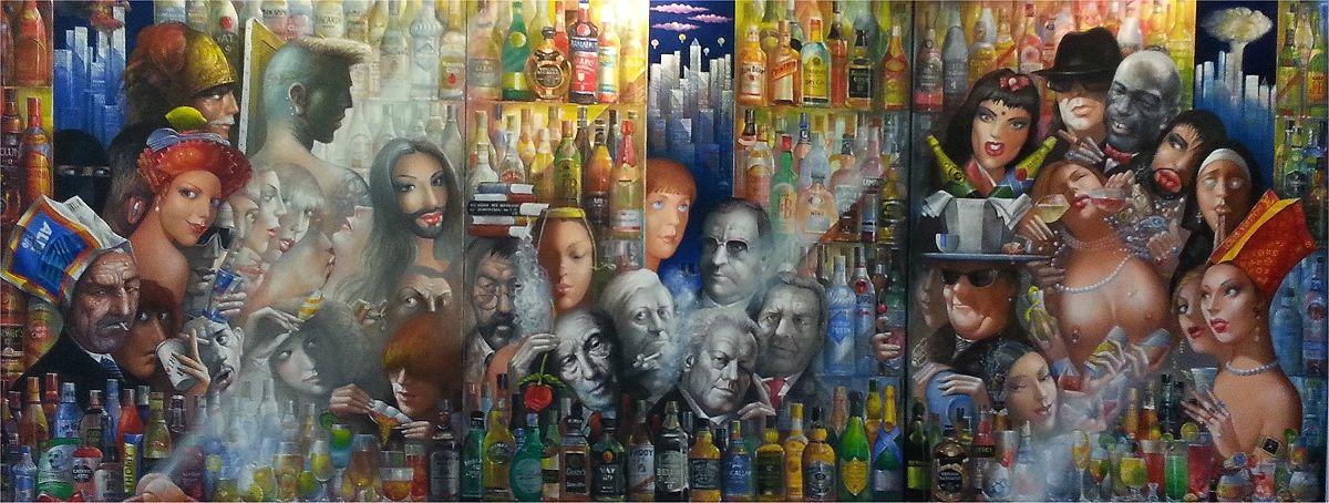 Dimitri Vojnov: Albtraum einer Kanzlerin