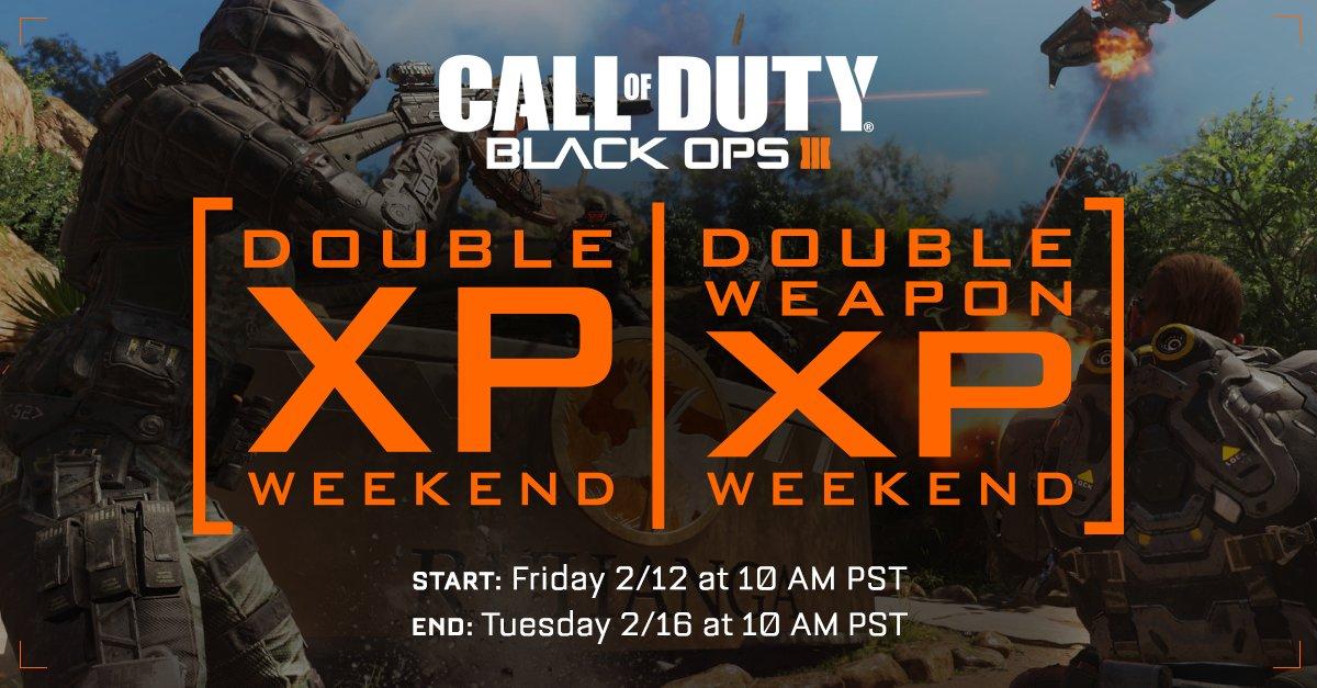Call of Duty: novo game confirmado, experiência dobrada em BO3 e mais