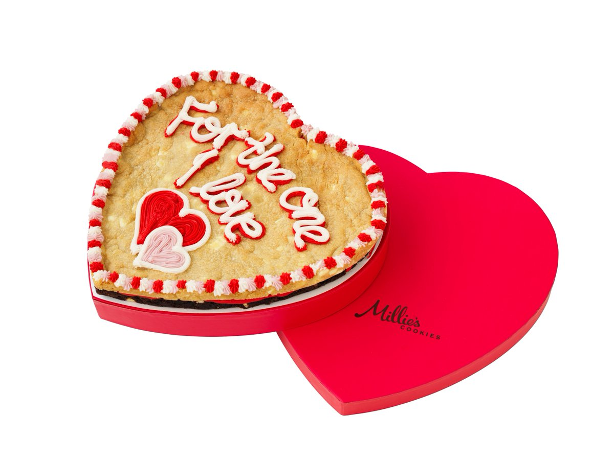 Millie S Cookies On Twitter Last Chance To Get Your Delivered In Time For Valentine Day Order By 12 00 Tomorrow Https T Co Edfbq0fjzx
