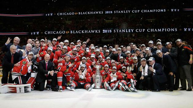 Blackhawks to be honored at White House by President Obama for 2015 Stanley Cup win