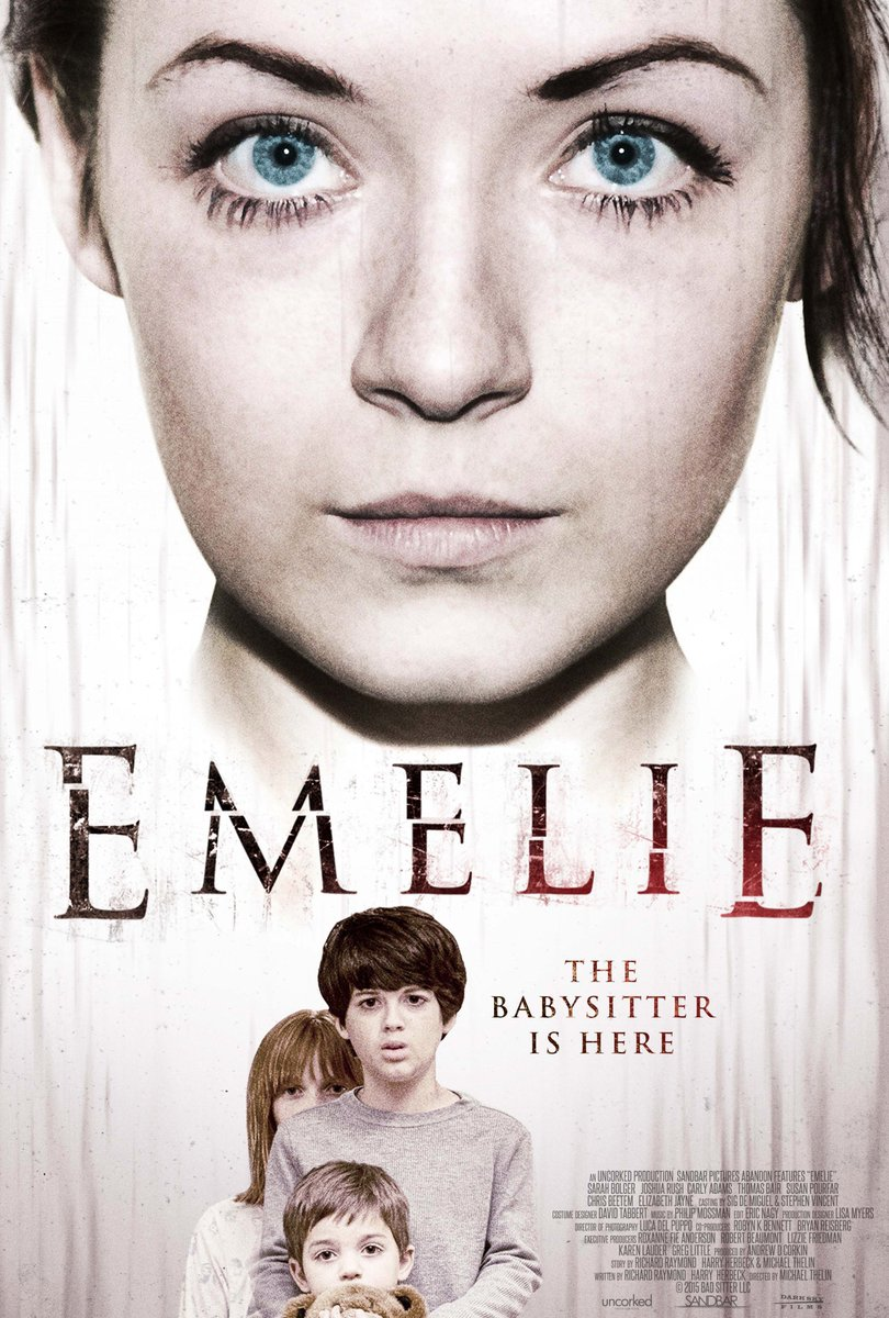 Excited to announce we're bringing #EMELIEMovie, starring @SarahBolger, to VOD + select theaters March 4th! https://t.co/Dxb3VYSRhr