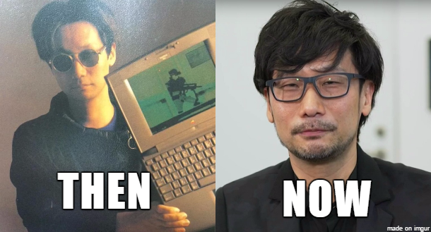 We're a week away from @HIDEO_KOJIMA_EN's #DICEAwards Hall of Fame Award! What is your fav. memory of Kojima? #TBT https://t.co/dPvp38A9Kc