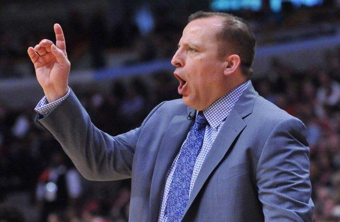 REPORT: Timberwolves make 'contact' with Tom Thibodeau. Bulls
