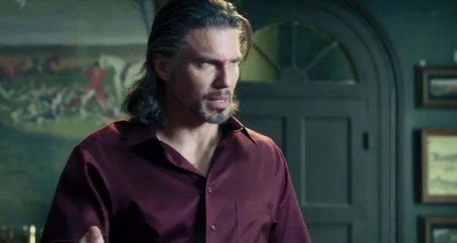 Watched MR. RIGHT trailer twice. I *thought* I saw Anson Mount but it was so quick, I couldn't be sure. Confirmed! https://t.co/l8DbTi4lOq