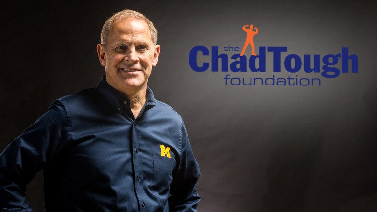Michigan Basketball honoring Chad Carr, @chadtough Foundation this weekend. ChadTough