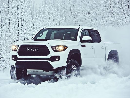 Toyota 2017 Tacoma Trd Pro Dirtier Than Ever Scoopnest