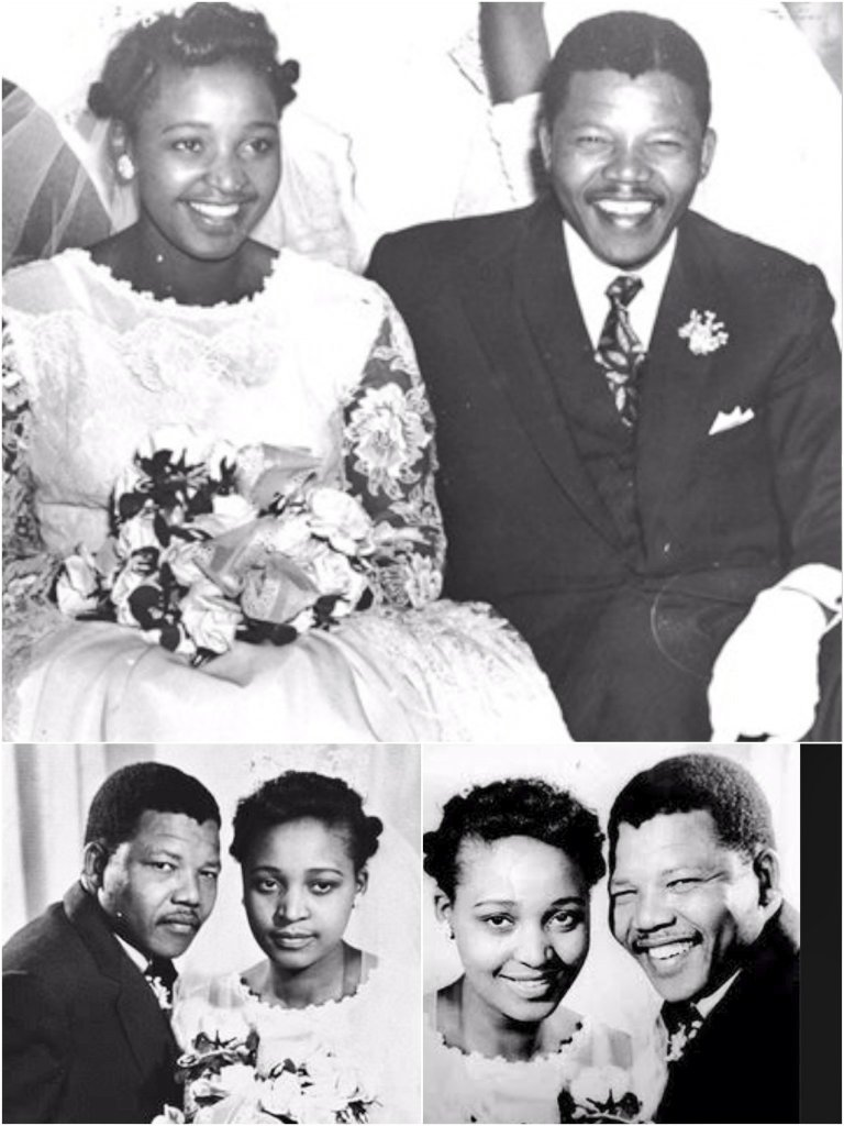 Winnie And Nelson Mandela Wedding